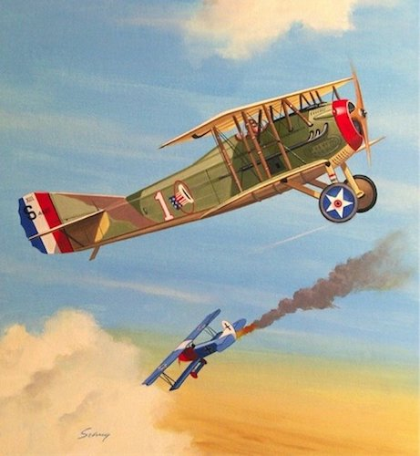 WWI Aviation Art